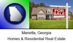 Marietta, Georgia - a house for sale