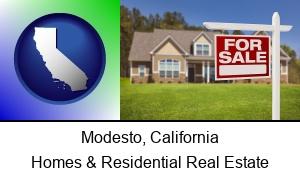 Modesto California a house for sale