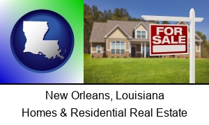 New Orleans, Louisiana - a house for sale
