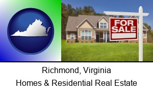 Richmond, Virginia - a house for sale