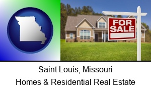 Saint Louis Missouri a house for sale