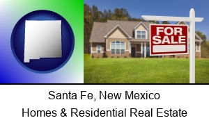 Santa Fe New Mexico a house for sale