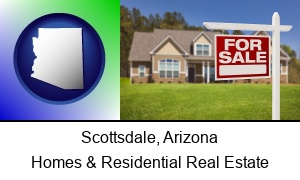 Scottsdale Arizona a house for sale