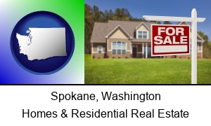 Spokane, Washington - a house for sale