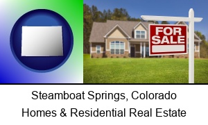 Steamboat Springs Colorado a house for sale