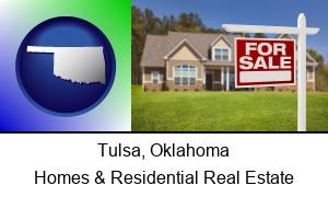 Tulsa, Oklahoma - a house for sale