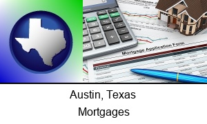 Austin Texas a mortgage application form