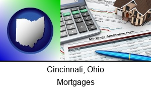 Cincinnati Ohio a mortgage application form