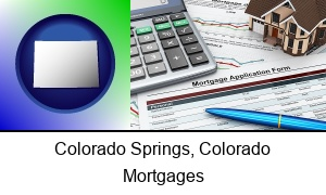 Colorado Springs Colorado a mortgage application form