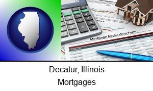 Decatur Illinois a mortgage application form