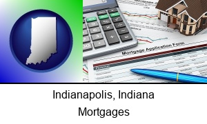 Indianapolis Indiana a mortgage application form
