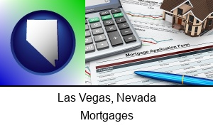 Las Vegas Nevada a mortgage application form