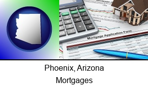 Phoenix Arizona a mortgage application form