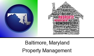 Baltimore, Maryland - property management concepts