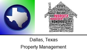 Dallas, Texas - property management concepts