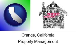 Orange California property management concepts