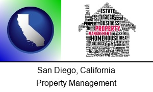 San Diego, California - property management concepts