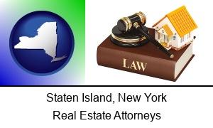 Staten Island, New York - a real estate attorney