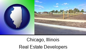 Chicago Illinois real estate subdivisions