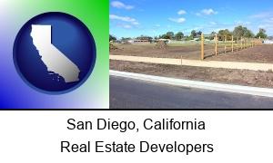 San Diego California real estate subdivisions
