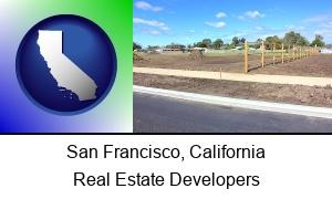 San Francisco California real estate subdivisions