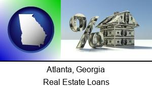 Atlanta Georgia a real estate loan rate