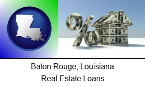 Baton Rouge Louisiana a real estate loan rate
