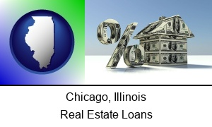 Chicago Illinois a real estate loan rate