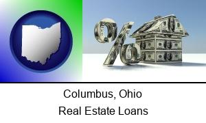 Columbus Ohio a real estate loan rate