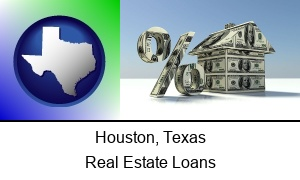 Houston Texas a real estate loan rate