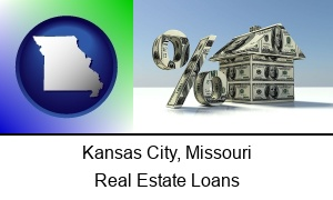 Kansas City Missouri a real estate loan rate
