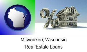 Milwaukee Wisconsin a real estate loan rate