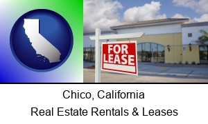 Chico, California - commercial real estate for lease
