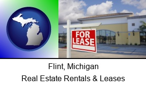 Flint, Michigan - commercial real estate for lease