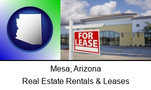 Mesa, Arizona - commercial real estate for lease