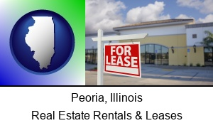 Peoria, Illinois - commercial real estate for lease