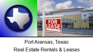 Port Aransas Texas commercial real estate for lease