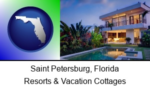 Saint Petersburg Florida a vacation cottage