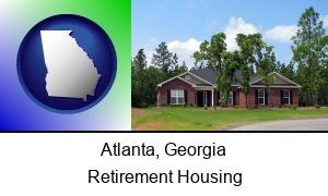Atlanta, Georgia - a single story retirement home
