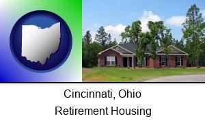 Cincinnati, Ohio - a single story retirement home