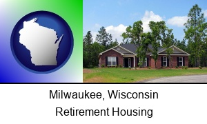 Milwaukee, Wisconsin - a single story retirement home