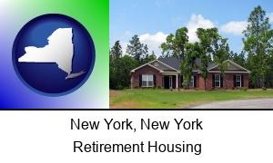 New York New York a single story retirement home