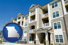 Missouri - an apartment building