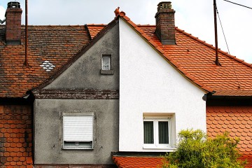 a building exterior restoration