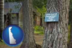 Delaware - rental cabins