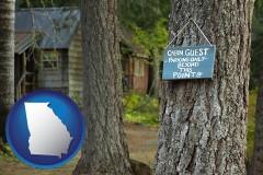 Georgia - rental cabins