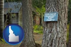 Idaho - rental cabins