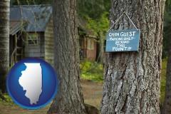 Illinois - rental cabins