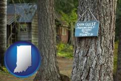 Indiana - rental cabins