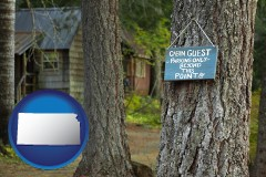 Kansas - rental cabins